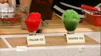 Chew Tips: Sorbet vs. Sherbet & Italian Ice vs. Shaved Ice