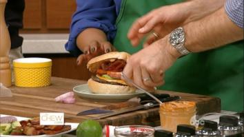 Chew Fan Burger Battle Spicy Bajan Burger vs. Chipotle Ranch Burger: Part 2