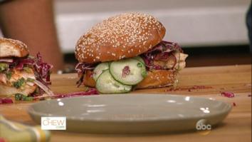 BBQ Salmon Sandwiches: Part 2