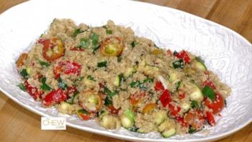 Grilled Vegetable Salad with Citrus Vinaigrette: Part 1