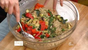 Grilled Vegetable Salad with Citrus Vinaigrette: Part 2