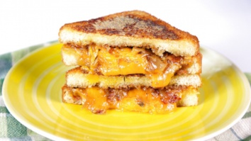 Grilled Cheese w/ Bacon-Onion Jam & Meatloaf Sandwich: Part 2