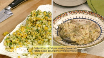 Loaded Creamy Potato Salad & Grilled Corn with Tarragon and Chive Vinaigrette: Part 2