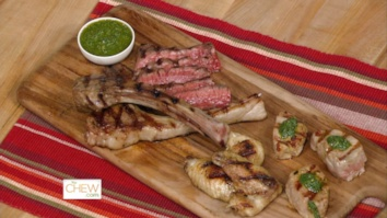Mixed Grill with Salsa Verde: Part 1