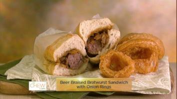 Beer Bratwurst Sandwich & Onion Rings: Part 1