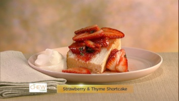 Strawberry & Thyme Shortcake: Part 1