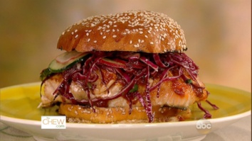 BBQ Salmon Sandwiches: Part 1