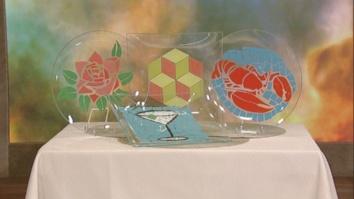 Clinton\'s Crafts: Mosaic Plates: Part 1