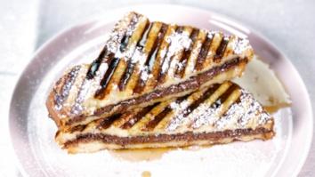Hazelnut Chocolate Stuffed French Toast: Part 2