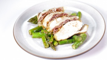 Lemon Butter Chicken with Asparagus: Part 2