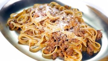 Fettuccine with Sausage Ragu: Part 2