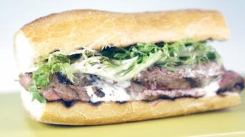 Grilled Steak & Fondue Sandwich: Part 2