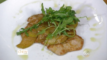 Almond Crusted Scallopini with Apples & Arugula: Part 1