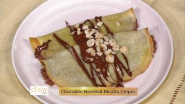 Breakfast Battle: Croque Madame Bread Pudding & Chocolate Hazelnut Ricotta Crepes: Part 1