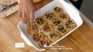 Spinach & Feta Pizza Wheels: Part 2