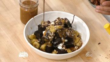 Hazelnut Fudge & Sticky Toffee Brownie Sundae: Part 4