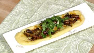 Grilled Balsamic Portobello Mushrooms with Soft Polenta: Part 1