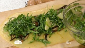 Grilled Balsamic Portobello Mushrooms with Soft Polenta: Part 3