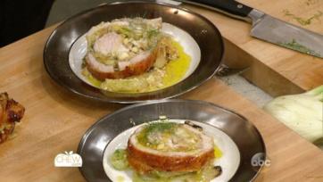 Garlic and Fennel Stuffed Turkey Recipe: Part 2
