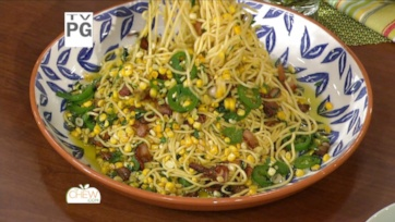 Spaghetti with Corn, Bacon and Jalapeno Recipe: Part 2