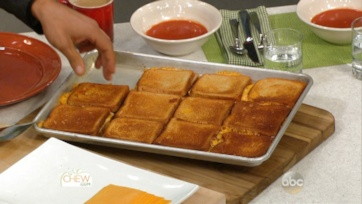 Baked Grilled Cheese Recipe