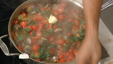 Clams with Sausage & Peppers Recipe: Part 2
