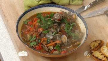 Clams with Sausage & Peppers Recipe: Part 3