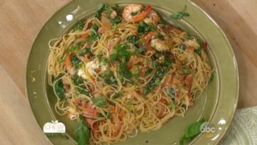 Shrimp & Spinach Spaghetti Recipe: Part 2