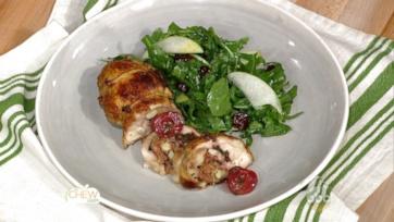 Cherry Stuffed Chicken Legs Recipe: Part 1