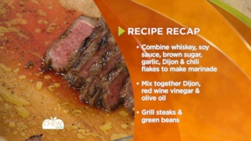 Steak with Grilled Green Beans: Part 2