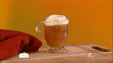 Spiced Tea with Pumpkin Whipped Cream
