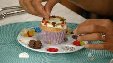 Individual Cupcake Decorating Stations