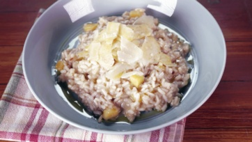 Acorn Squash and Sage Risotto: Part 1