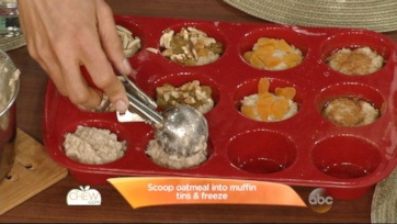 Carla\'s Freezer Tip: Make-Ahead Freezer Oatmeal Cups