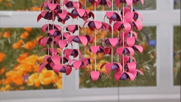 Paper Flower Chandeliers: Part 1