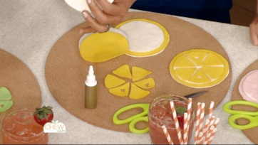 Carla's Citrus Coasters