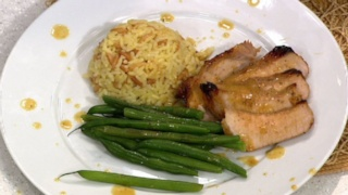 Amy Kayne\'s Honey Mustard Pork Chops