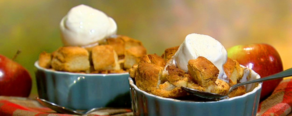 Apple Brown Betty Recipe by Mario Batali - The Chew