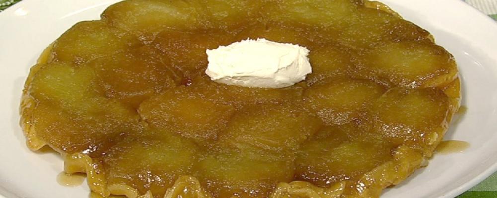 Apple Tarte Tatin Recipe by Carla Hall and Clinton Kelly ...