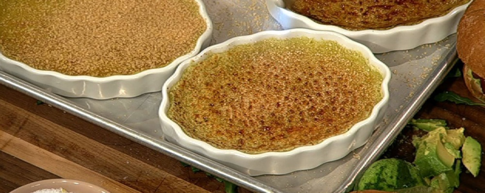 Avocado Creme Brulee Recipe by Leo Howard - The Chew