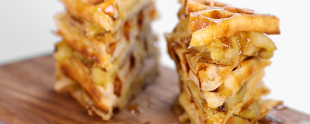 Banana Waffle Sandwich Recipe by Carla Hall - The Chew