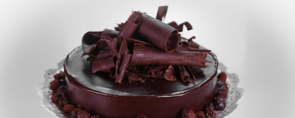Belgian Chocolate Truffle Cake