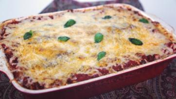 Bongiovi Eggplant Lasagna
