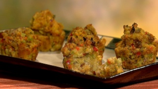 Carla and Daphne\'s Corn Bread and Sausage Muffins