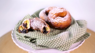 Carla Hall and Clinton Kelly\'s Stuffed Crullers