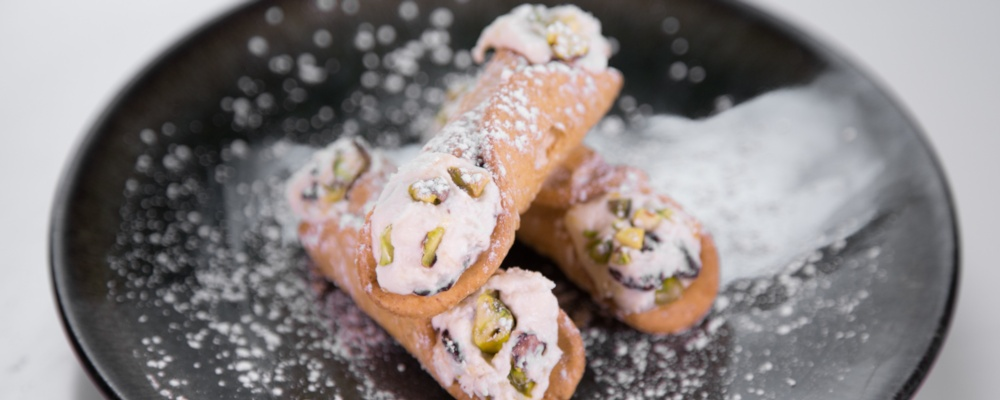 Carla Hall\'s and Daphne Oz\'s Cannolis
