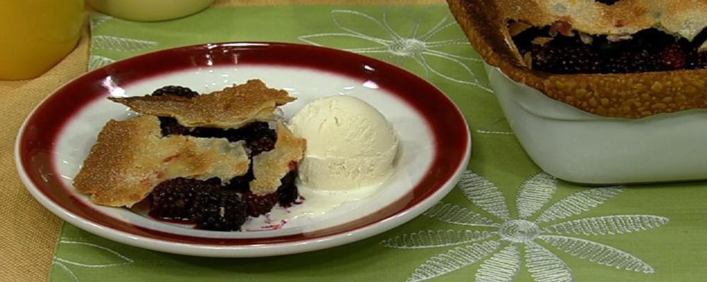 Carla Hall\'s Blackberry Pot Pie