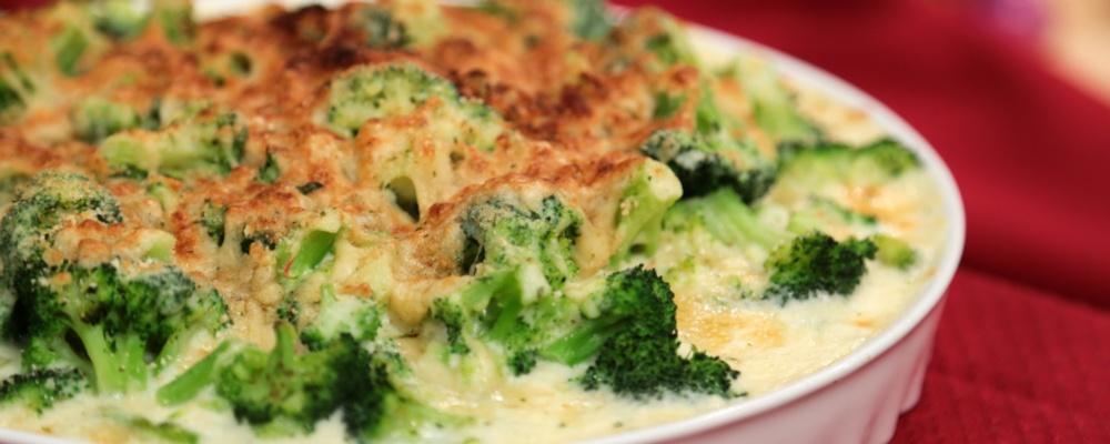 Carla Hall's Broccoli Gratin Recipe by Carla Hall - The Chew