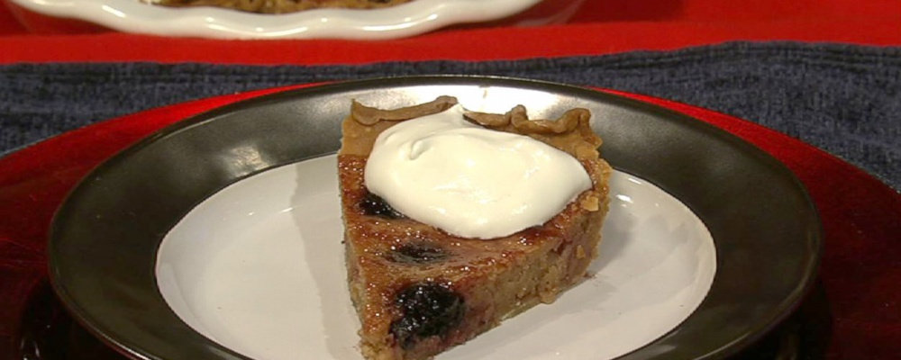 Carla Hall\'s Cherry and Ginger Tart