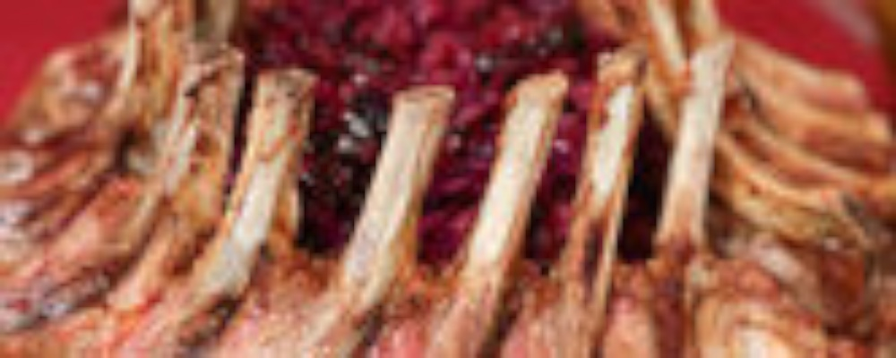 Carla Hall\'s Crown Roast of Pork